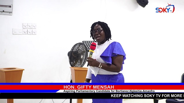 WOMEN ARE STRONG AND SPECIAL, DON'T UNDERRATE YOURSELF- GIFTY MENSAH URGES WOMEN