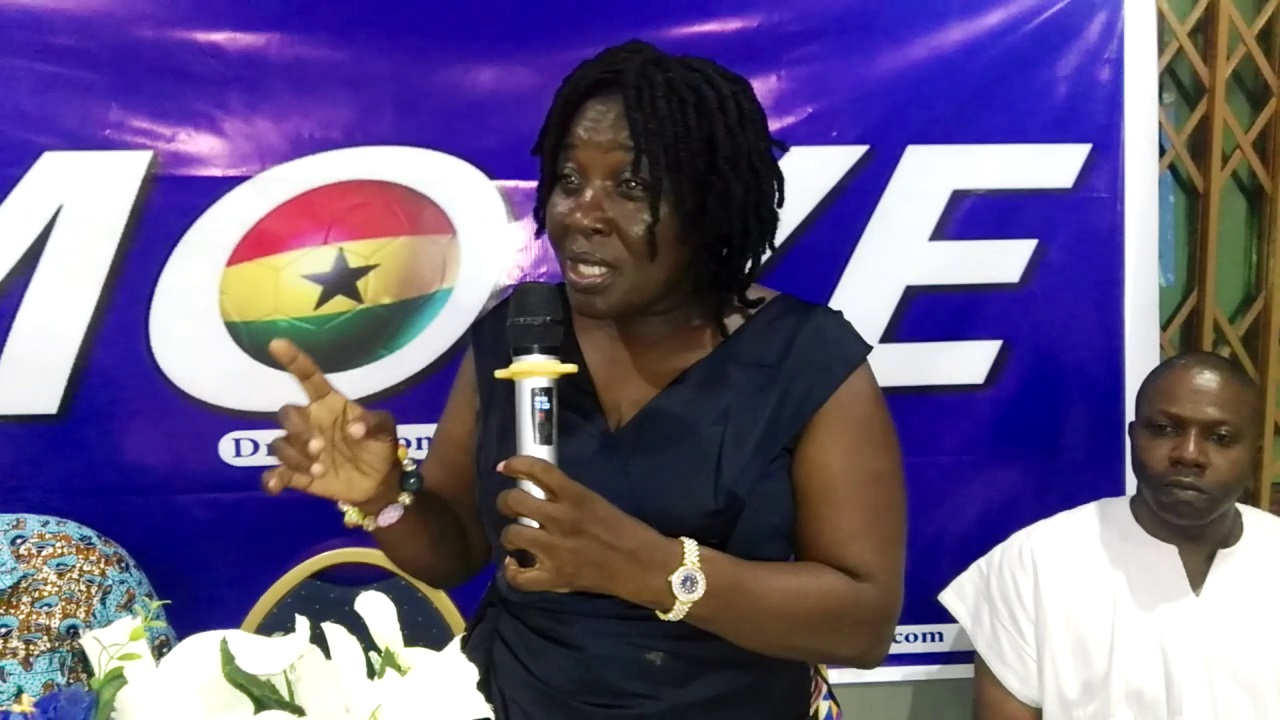 Hon. Gifty Mensah, Aspiring Parliamentary Candidate for Bortianor-Ngleshie-Amanfrom constituency