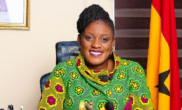 Hon. Nana Ama Dokua Asiamah Adjei, Member of Parliament for Akuapem North