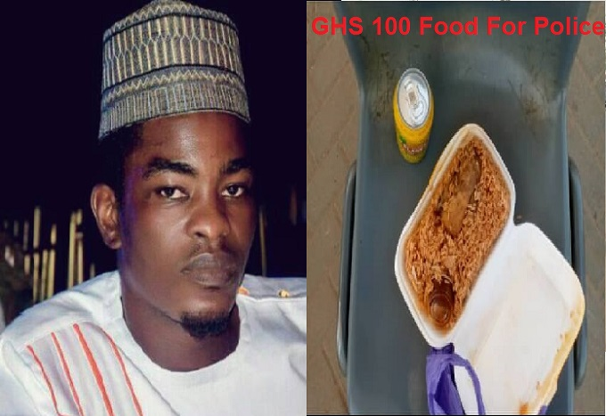 GHS 100 in exchange for a takeaway pack of Jollof rice - Hadji Mustaphar writes.